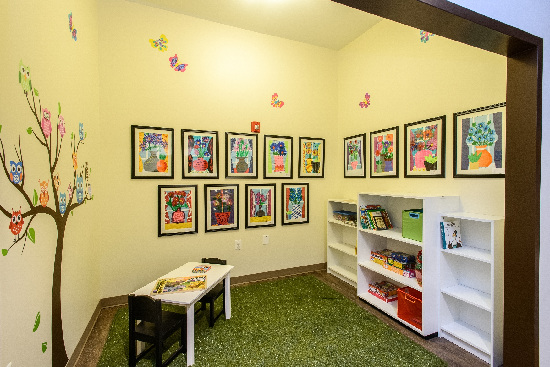 Children's room located inside Hospice of the Chesapeake